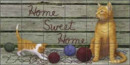Home Sweet Home by Marcia Matcham Ceramic Tile Mural RW-MM010