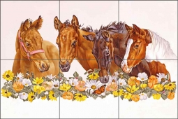 Field Trip by Verdayle Forget Ceramic Tile Mural RW-VFA005