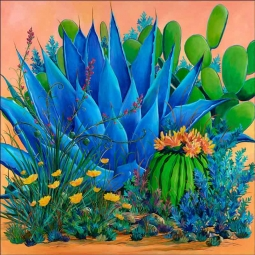 Agave by Susan Libby Accent & Decor Tile SLA057AT