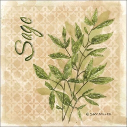Sage by Sara Mullen Ceramic Accent & Decor Tile - SM090AT