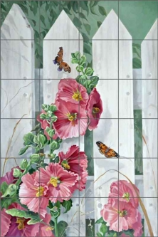 Returning by Verdayle Forget Ceramic Tile Mural VFA024