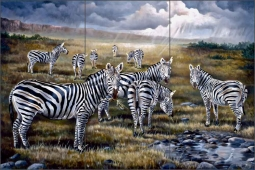 Serengeti by Verdayle Forget Ceramic Tile Mural - VFA031